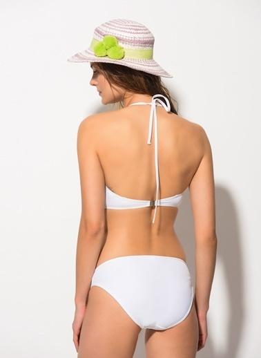 Dagi Straplez Bikini Takım Beyaz